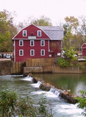 War Eagle Mill image. Click for full size.
