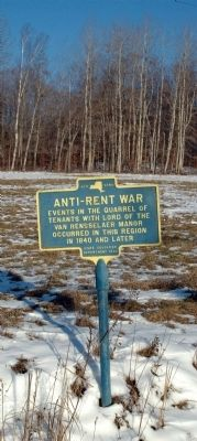 Anti-Rent War Marker image. Click for full size.