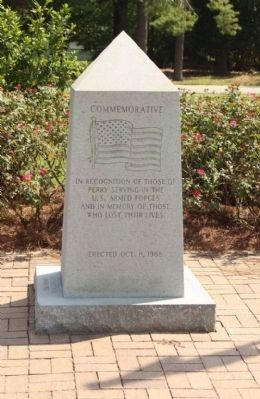Commemorative, Perry S. C. Memorial image. Click for full size.