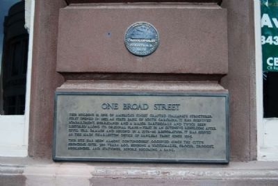 One Broad Street Marker image. Click for full size.