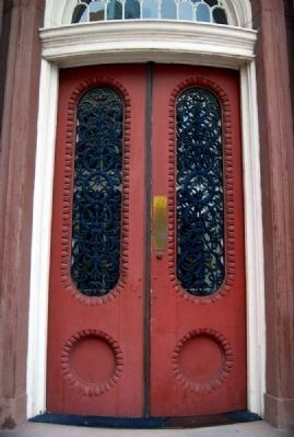 One Broad Street<br>Door Detail image. Click for full size.