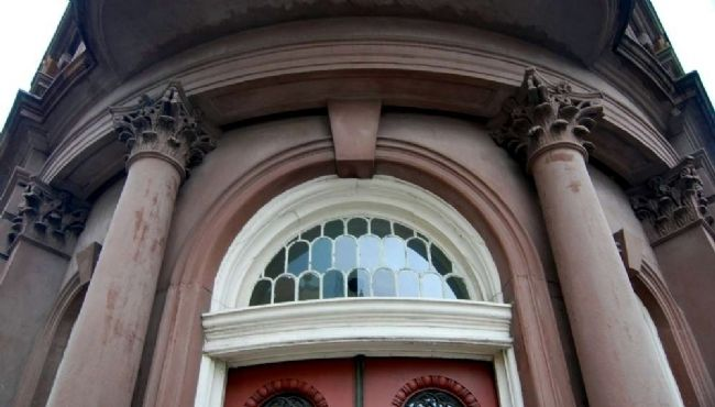 One Broad Street<br>Door Fanlight image. Click for full size.