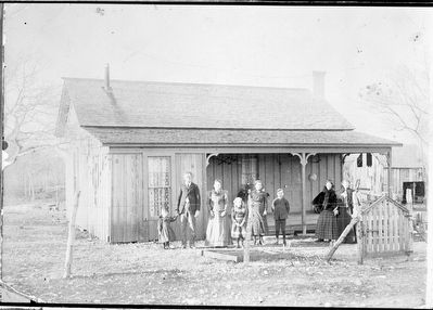 Goodloe home, Briggs, Texas image. Click for full size.
