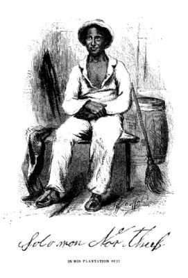 Solomon Northup as a Slave image. Click for full size.