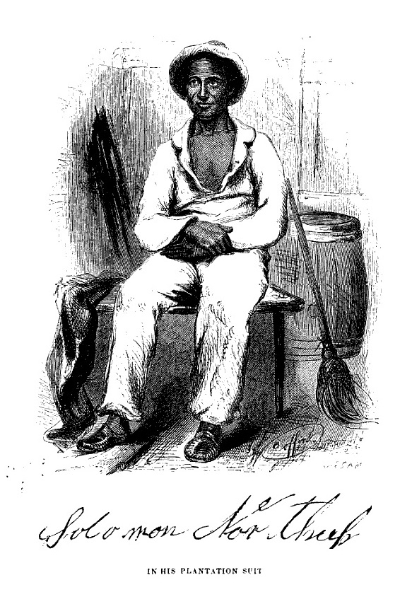 Solomon Northup as a Slave