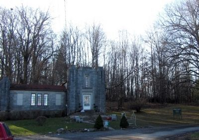 Hillside Cemetery entrance. image. Click for full size.
