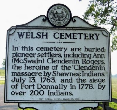 Welsh Cemetery Marker image. Click for full size.