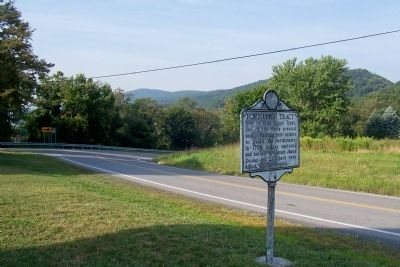 Fort Upper Tract Marker image. Click for full size.