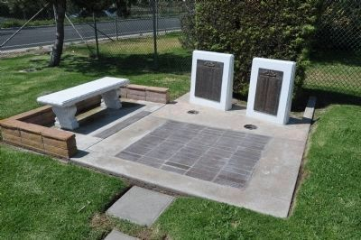 Memorial Bench, Markers, and Pavers image. Click for full size.