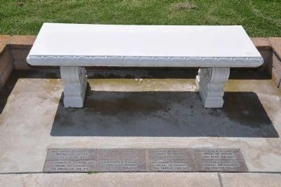 Memorial Bench and Pavers image. Click for full size.