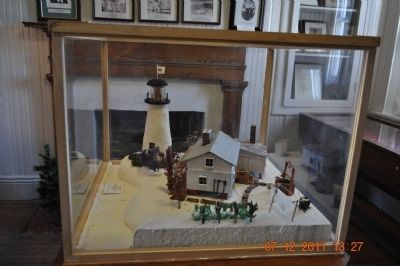 Pensacola Lighthouse Miniature image. Click for full size.