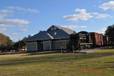 Train Depot and Train image. Click for full size.