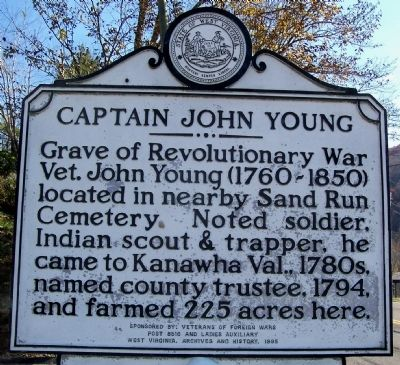 Captain John Young Marker image. Click for full size.