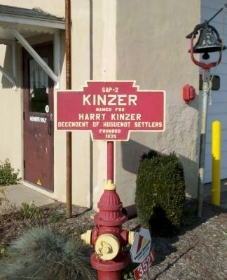 Kinzer Marker - Hydrant - Warning Bell image. Click for full size.