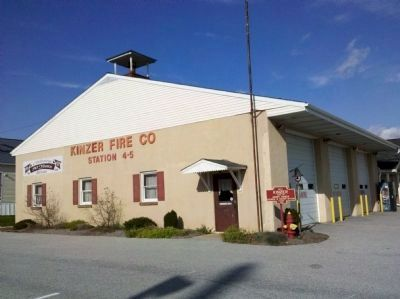 Kinzer Fire House, Kinzers, Pennsylvania image. Click for full size.