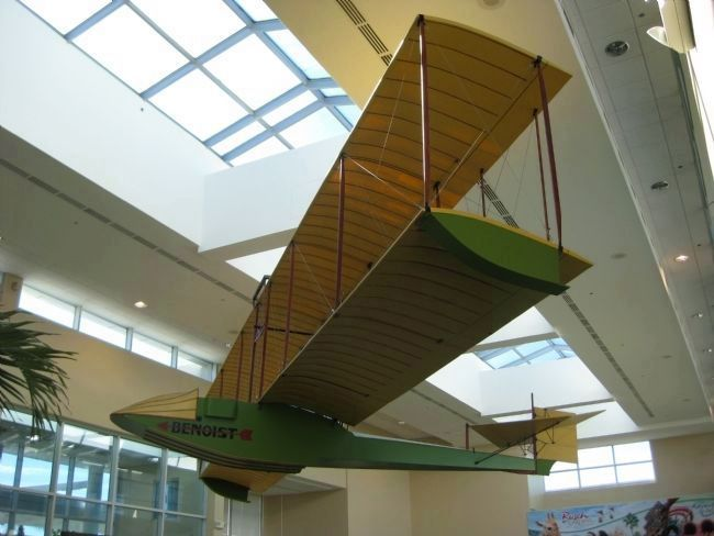 Replica Benoist model XIV Airboat image. Click for full size.