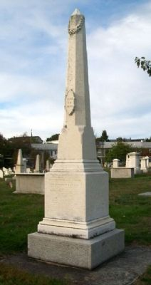 Reverend William I. Reese Monument image. Click for full size.