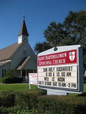 Saint Bartholomew Episcopal Church image. Click for full size.