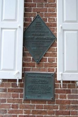 Heyward-Washington House Marker image. Click for full size.