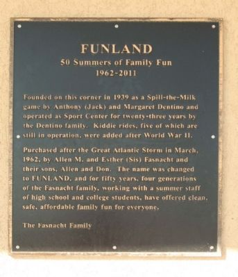 Funland Marker image. Click for full size.