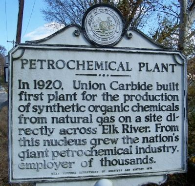 Petrochemical Plant Marker image. Click for full size.