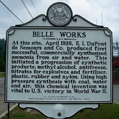 Belle Works Marker image. Click for full size.