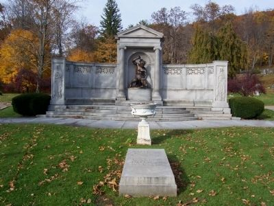 Edwin L. Drake Burial Site and Monument image. Click for full size.