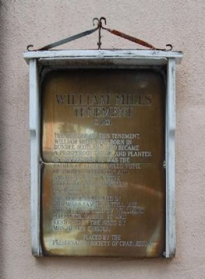 William Mills Tenement Marker image. Click for full size.