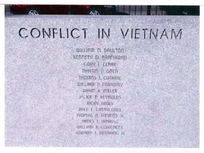 "Obverse - Right - - ""Conflict In Vietnam"" image. Click for full size."
