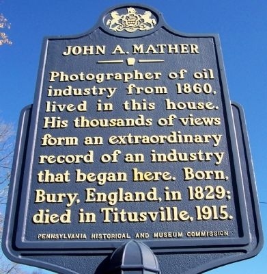 John A. Mather Marker image. Click for full size.