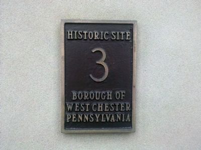 Historic Site 3 - Borough of West Chester image. Click for full size.