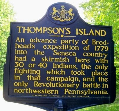 Thompson's Island Marker image. Click for full size.
