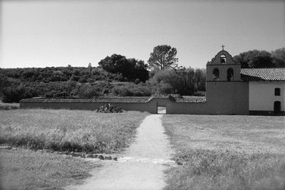 La Purisima Mission Bell Tower image. Click for full size.