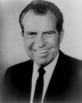 Richard Nixon image. Click for full size.