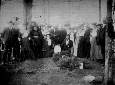 "Burial of Laodicea Langston ""Dicey"" Springfield image. Click for full size."