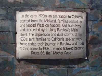 National Trails Hwy/Route 66 Marker image. Click for full size.