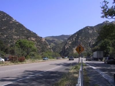 Gaviota Pass image. Click for full size.