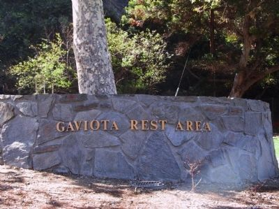 Gaviota Rest Area image. Click for full size.