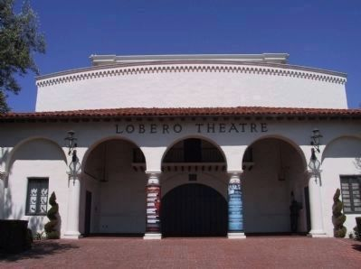 Old Lobero Theatre image. Click for full size.