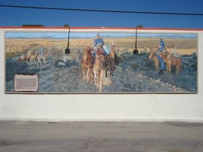 General Beale Uses Camels Marker image. Click for full size.