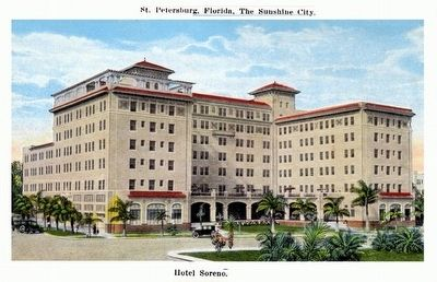Soreno Hotel Post Card image. Click for full size.
