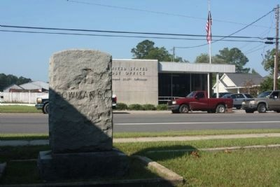 Bowman S.C. Marker seen along US 178, Charleston Highway image. Click for full size.