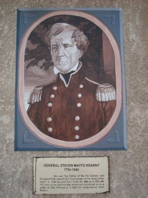 General Steven Watts Kearny Marker image. Click for full size.