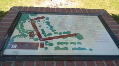 Mission San Fernando, Rey de España marker and guide image. Click for full size.