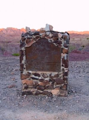 Picacho Mines Marker image. Click for full size.