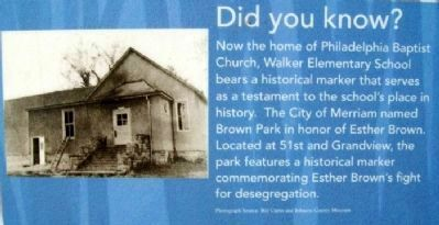 Did You Know? on The South Park Community Marker image. Click for full size.