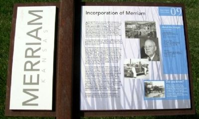 Incorporation of Merriam Marker image. Click for full size.