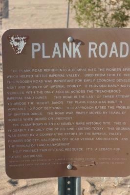 Plank Road image. Click for full size.