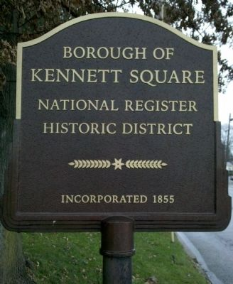 Kennett Square Marker image. Click for full size.