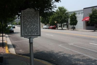 King Haiglar Tower Marker seen along Broad Street image. Click for full size.